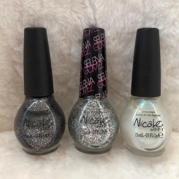 Nicole By Opi 3 Piece Set Nail Polish | Poshmark